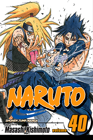 Naruto Vol. 40: The Ultimate Art