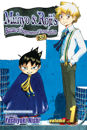 Muhyo & Roji's Bureau of Supernatural Investigation Vol. 1: Free Preview!!