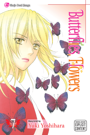 Butterflies, Flowers Vol. 7: Butterflies, Flowers, Volume 7