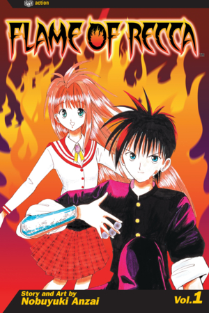 Flame of Recca Vol. 1: Flame of Recca, Volume 1