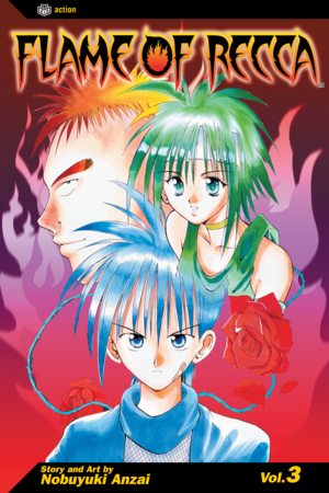 Flame of Recca Vol. 3: Flame of Recca, Volume 3