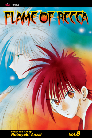 Flame of Recca Vol. 8: Flame of Recca, Volume 8