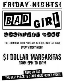 Bad Girl Cocktail Hour - lesbian, queer, happy hour - San Francisco Gay Events, Gay & Lesbian Bars in SF | Wsup Now