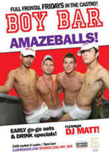 BOY BAR at The Cafe - gay, event, music, dance, gogo - San Francisco Gay Events, Gay & Lesbian Bars in SF | Wsup Now