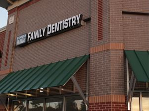 Western Wake Family Dentistry Store Front