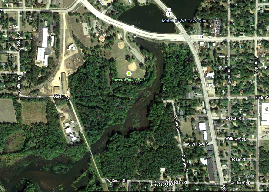 Wisconsin River Bridgework