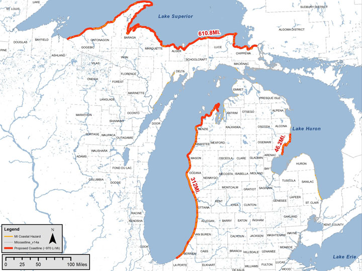 Michigan Coastal Mapping