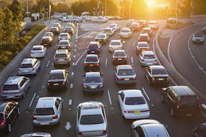 traffic cars street congestion