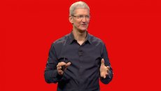 tim cook red