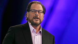 Business Leaders And Politicians Speak At Dreamforce Conference
