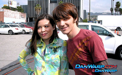 Drake Bell and Miranda Cosgrove and iCarly and Drake & Josh