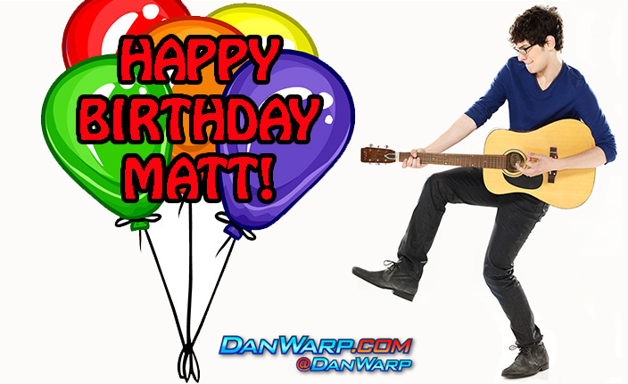 Happy Birthday Matt Bennett