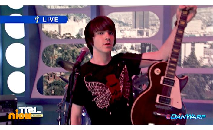 Drake Bell Red Guitar