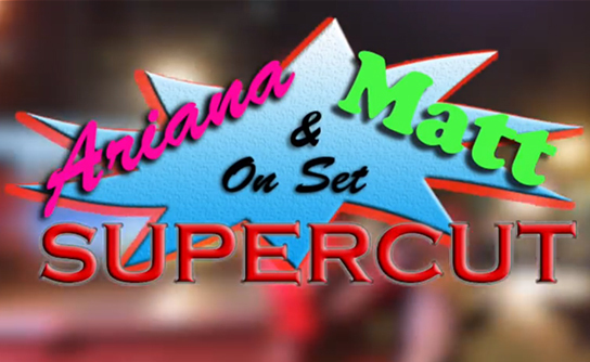 Dan Schneider Presents Ariana Grande and Matt Bennet on set SUPERCUT #KillerTunaJump