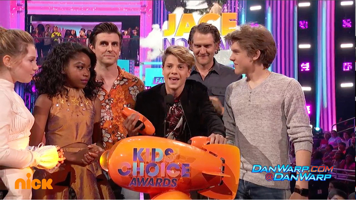 Henry Danger and Jace Norman Win at Kids Choice Awards 2017! Henry ...