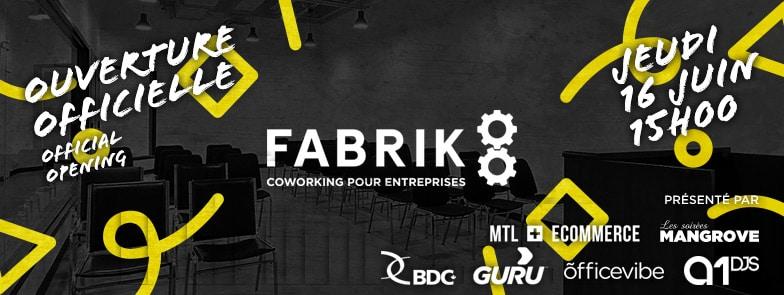 Fabrik8 ouvre ses portes le 16 Juin à partir de 15h!