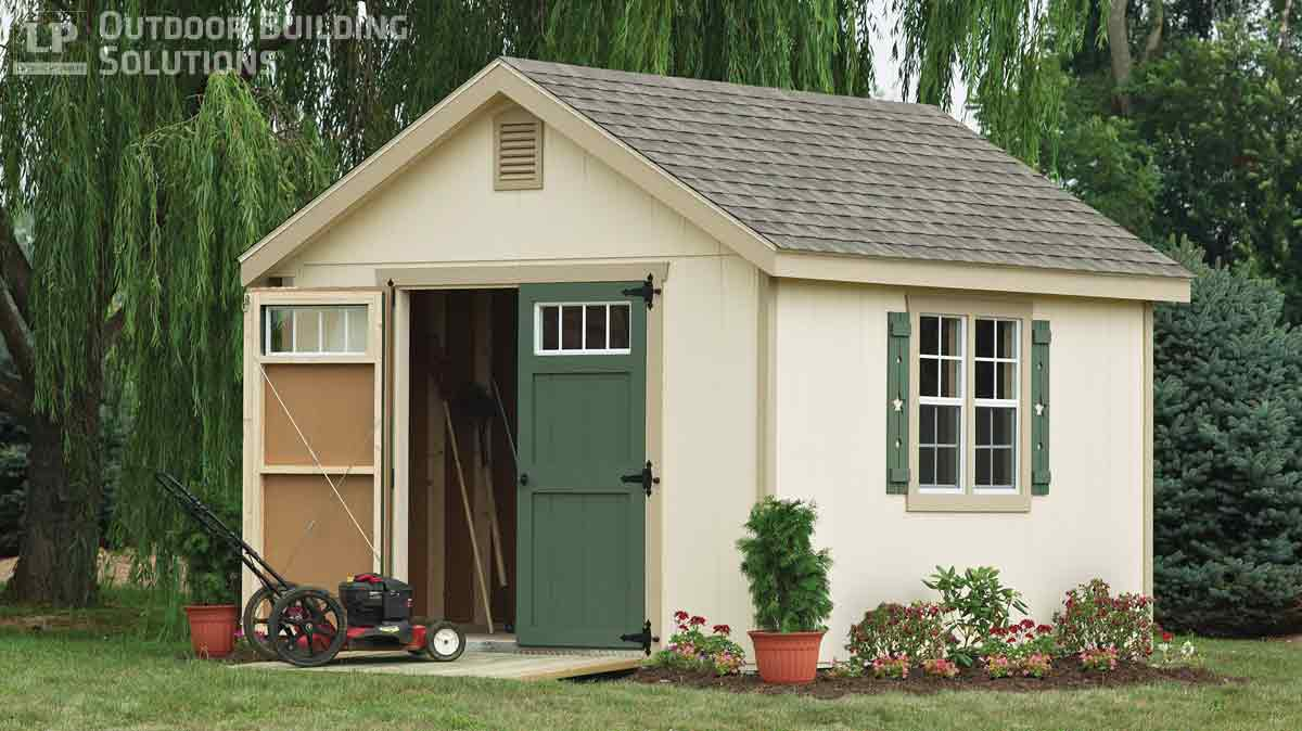 What are the most common storage shed sizes lp shed for Garden shed sizes