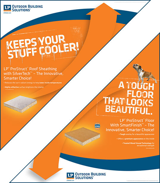 SilverTech Roof and SmartFinish Floor Interior Corner Posters
