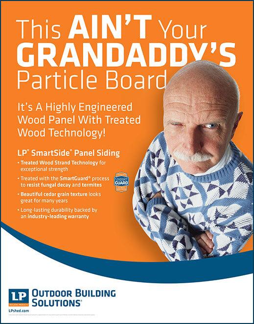 SmartSide Panel Siding Innovation Wall Poster