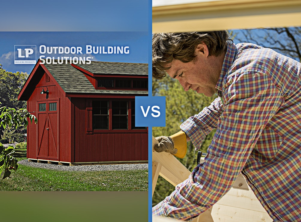 Buying a Shed vs. Building a Shed: Which Is Right for You?