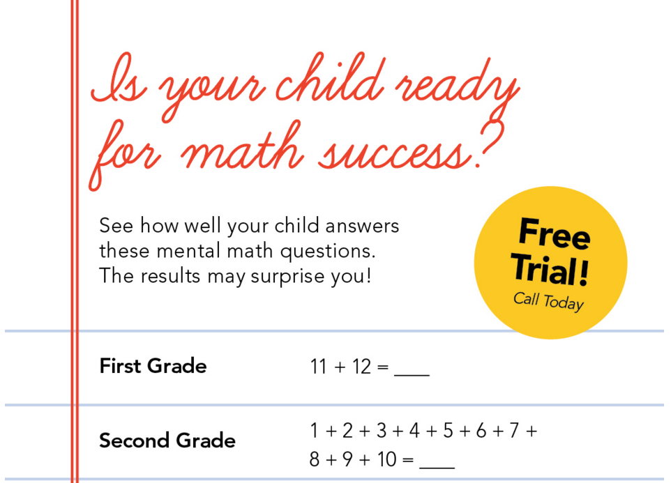 Is your child ready for math success? | Mathnasium