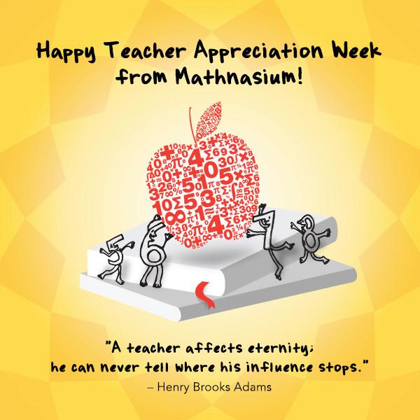 Happy teacher appreciation week sciox Images