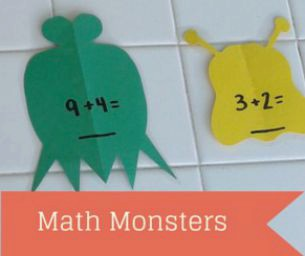 Mathing With Your Kids: Math Monsters!