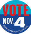 Vote Nov. 4 Button