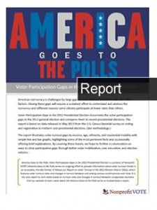 America Goes to the Polls 2012, Gaps