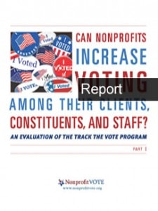 Can Nonprofits Increase Voting