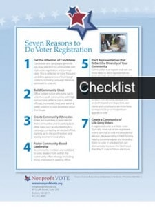 Seven Reasons to Do Voter Registration