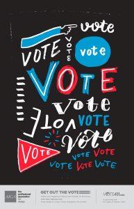 AIGA Vote Poster