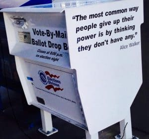 Ballot Drop Box