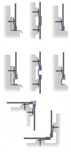 E Wall Panel Extrusions