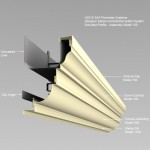 extruded-gutter-150a
