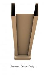 recessed-column