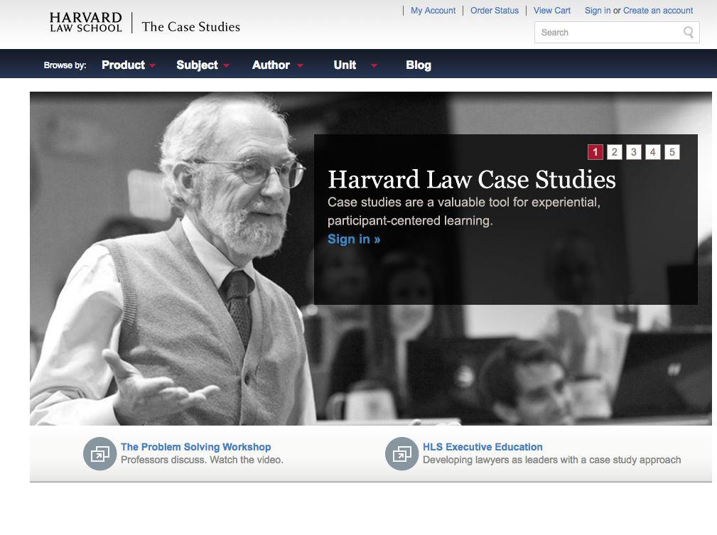 Harvard Law Case Studies