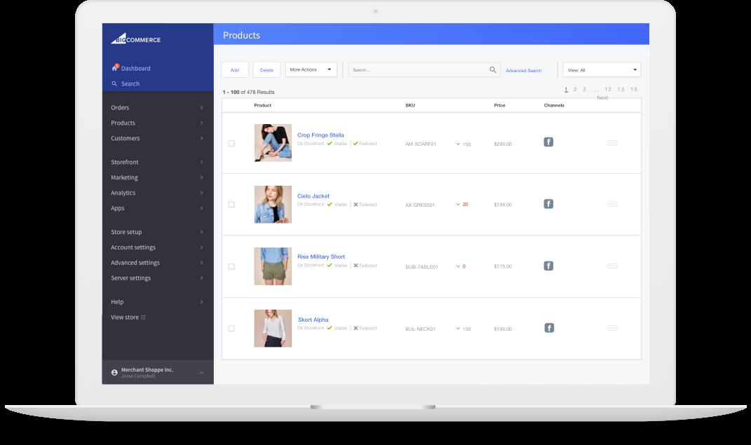 facebookshop-productlist