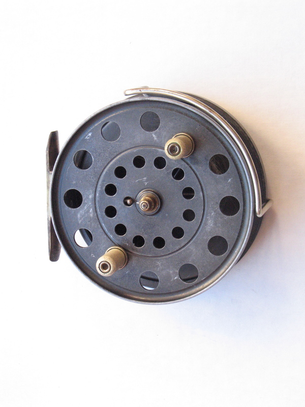 A custom made centrepin reel of the type retailed by Specialist Tackle