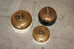 Brass Light Switches