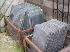 Always A Selection Of Roofing Slates In Stock