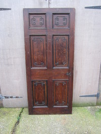 Solid Oak Georgian Door