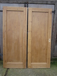 Pine Striped 1 panel Doors