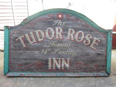 Antique Hand Painted Pub Sign