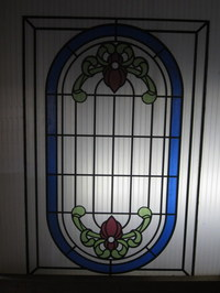Modern Stained Glass Panell