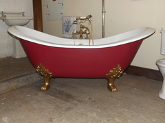 Original Double Ended Slipper Bath With Claw Feet