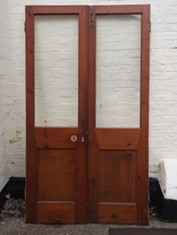 Pair Of Vestibule Doors