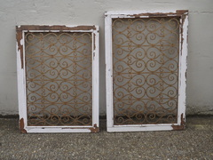 Ornate Radiator Grills