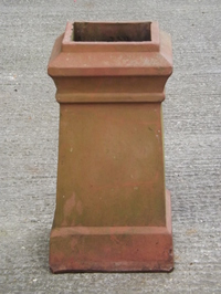 Terracotta Square Chimney Pot