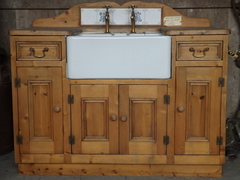 Handmade Kitchen Unit With Belfast Sink